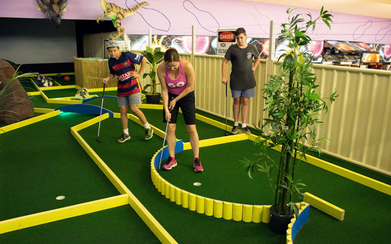 Jurassic Putt Putt at Forster Entertainment Centre